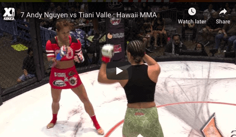 7 Andy Nguyen vs Tiani Valle : Hawaii MMA