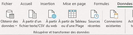 Power Query dans Excel 1