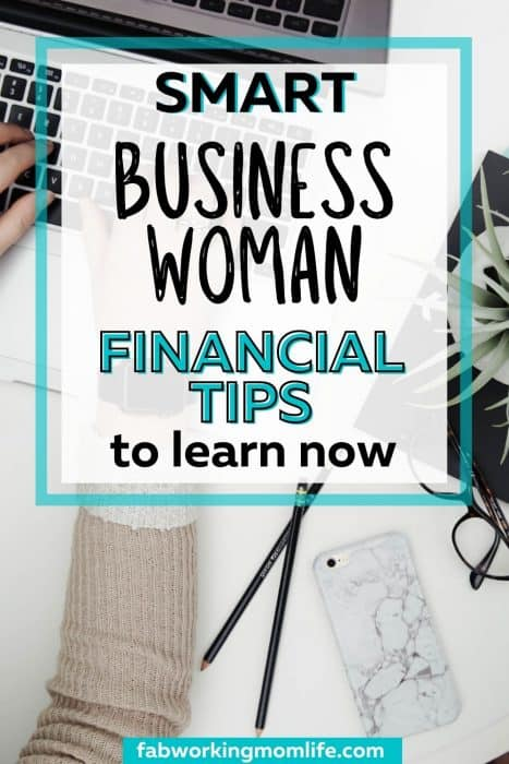 business woman financial tips
