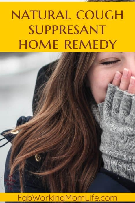 The Best Natural Cough Suppressant Remedy to Stop your Cough Instantly! Cure Your Cough with this Cross-Cultural Remedy | Beat Cold and Flu Season with this Natural Cough Remedy | Fab Working Mom Life #winter #homeremedy #coldandflu