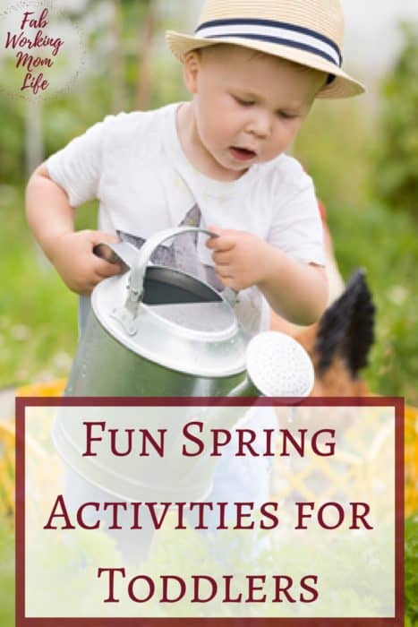 Fun Spring Activities to Help Your Child Develop Motor Skills | Fab Working Mom Life | #toddlers #preschoolers #parenting #finemotorskills