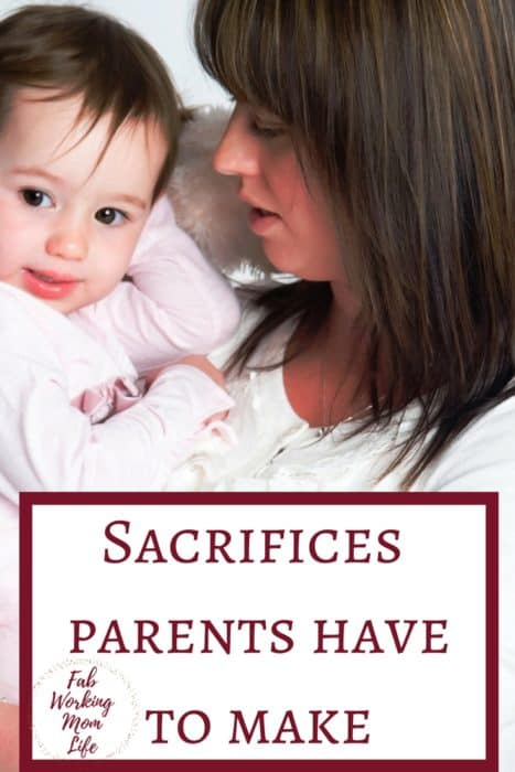 Parenthood is hard: Sacrifices that parents have to make