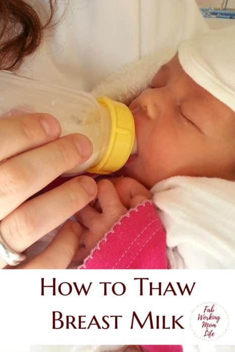How to Thaw Breast Milk | Thawing Frozen Breastmilk | Breastfeeding Moms | Unfreeze breast milk