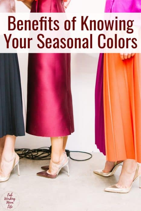 Benefits of Knowing Your Seasonal Colors | Fab Working Mom Life #momfashion #fashion #workingmom