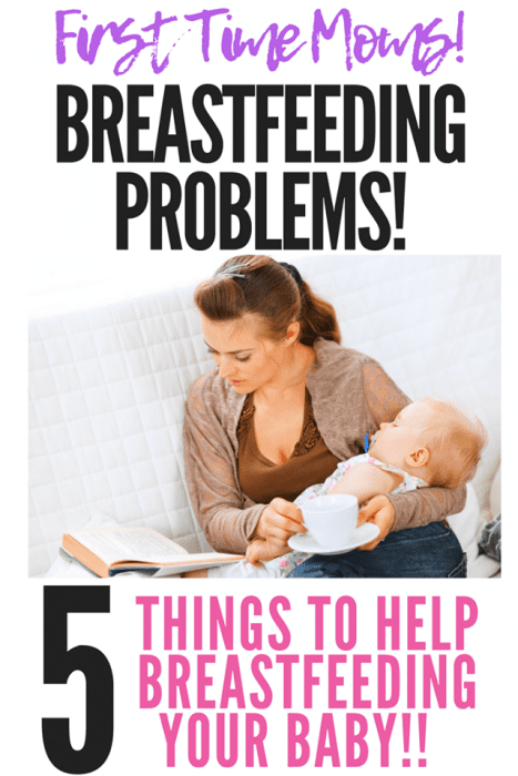 First Time Moms - 5 Tips to help breastfeeding your baby! #breastfeeding #pregnant #newmom #baby #infant #lactation Fab Working Mom Life