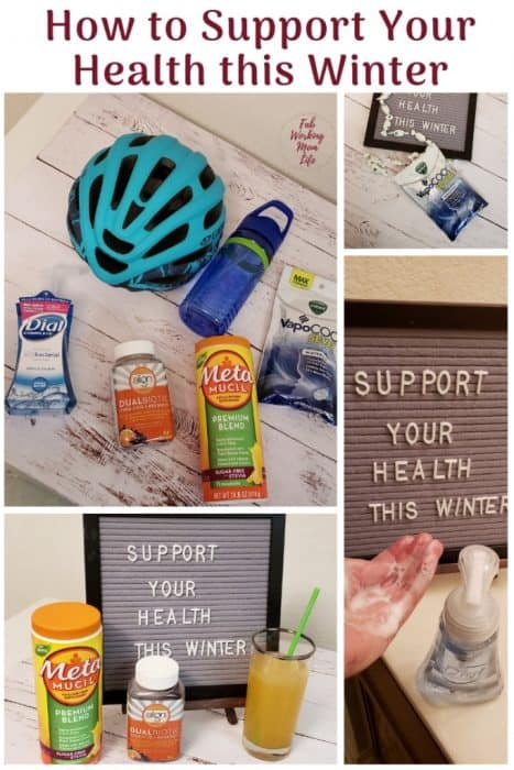 What are some ways you proactively support your health? Here are some easy ideas to help you keep your family healthy this winter season! #ad #WalmartHealthSupport #IC www.WalmartHealthSupport.com