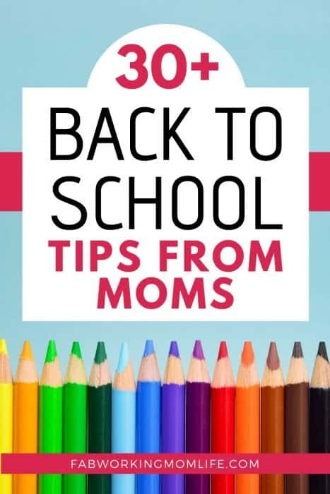 30 plus back to school tips2