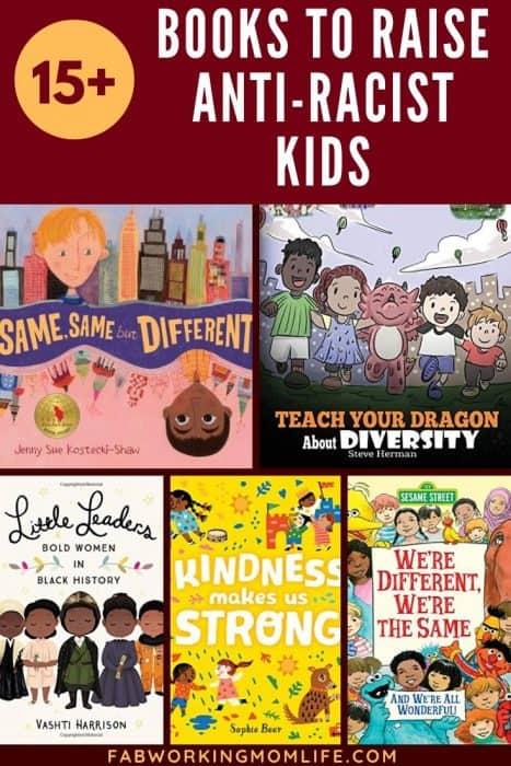15+ books to raise anti-racist kids
