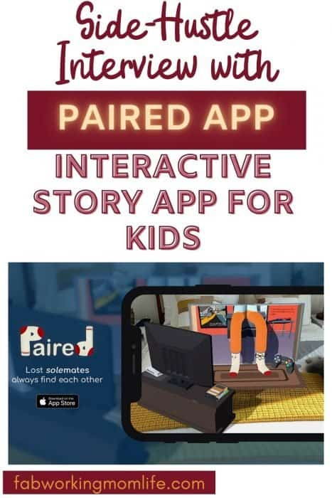 side hustle Paired app interactive story