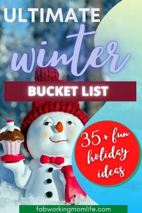 ultimate winter holiday season bucket list