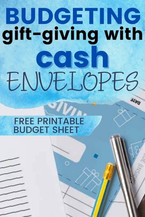 systems like the cash envelope budgeting system make it easy to stay on track when gift shopping over the holidays.