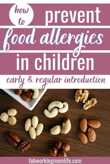 prevent food allergies in children