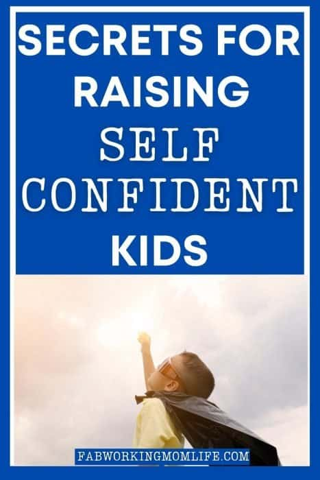 how to build child's confidence