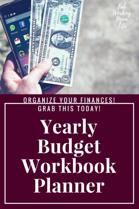 Yearly Budget Workbook Planner