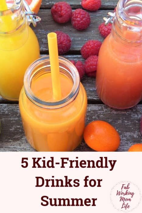 Kid Friendly Drinks for Summer