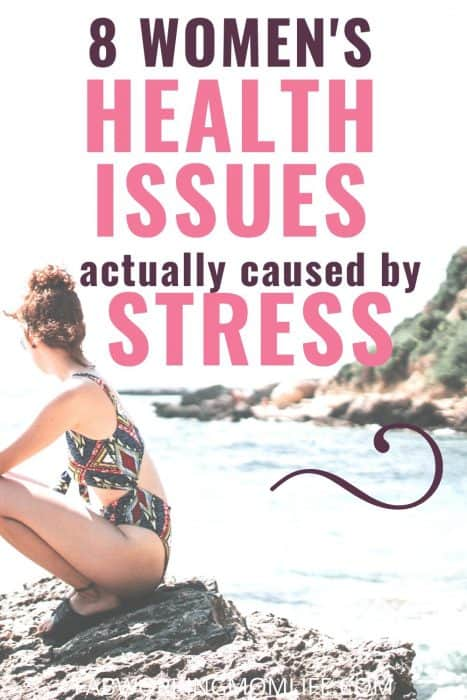 womens health issues caused by stress