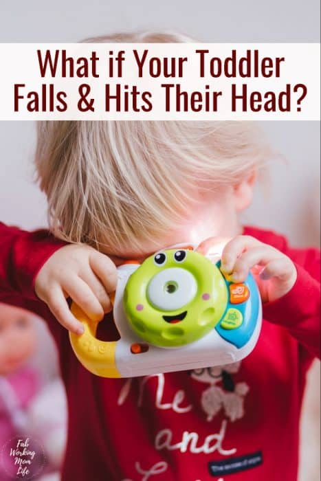 what if your toddler falls down and his their head? | Fab Working Mom Life #toddlers #parenting #headinjury What to do when your toddler has a head injury