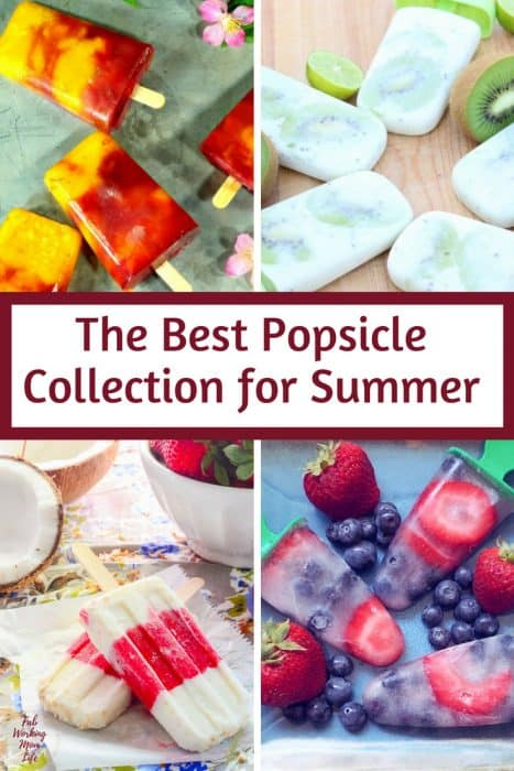 The Best Popsicle Collection you must try this Summer | Fab Working Mom Life #summer #summervacation #summerbreak #dessert #popsicle #refreshing