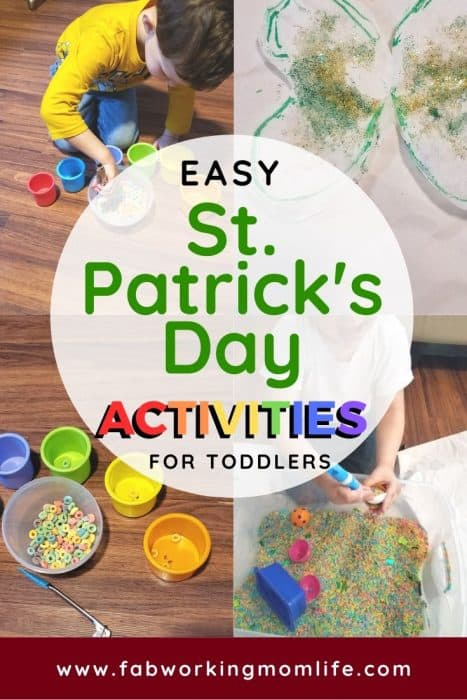 Easy St Patrick's Day Activities for Toddlers