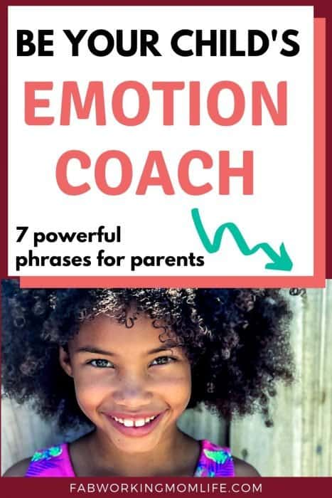 be your child's emotion coach
