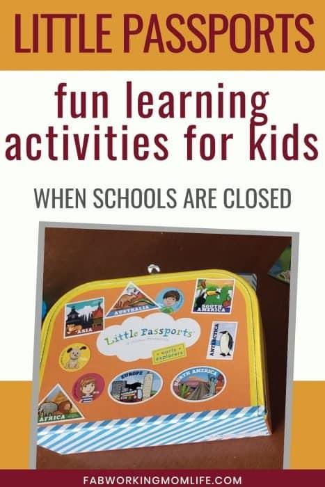 Little passports fun learning activities for kids