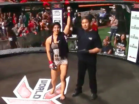 Rachael Ostovich Early fights in Hawaii X1 MMA