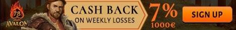 cash back promotion casino