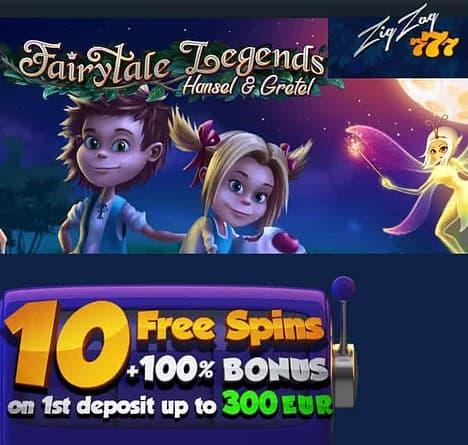10 free spins no deposit bonus + 100 free spins + 100% welcome bonus!