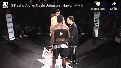 3 Kaahu Alo vs Neale Johnson : Hawaii MMA