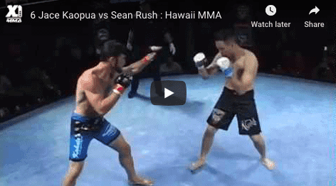 6 Jace Kaopua vs Sean Rush : Hawaii MMA