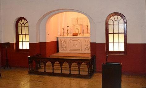 The Catholic Chapel in Kilmainham Gaol where Joseph Plunkett married his sweetheart, Grace, the night before his execution. - The Irish Place