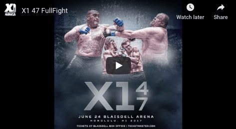 X1 47 FullFight Lopz vs Mahe MMA HAWAII