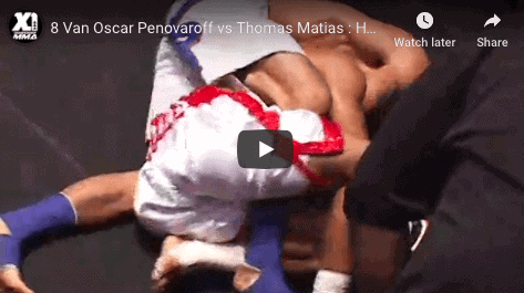 8 Van Oscar Penovaroff vs Thomas Matias : Hawaii MMA