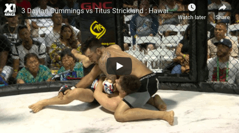 3 Daylan Cummings vs Titus Strickland : Hawaii MMA