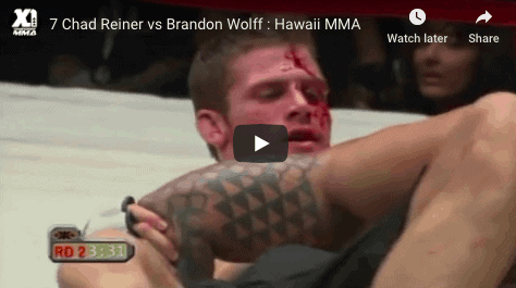 7 Chad Reiner vs Brandon Wolff Hawaii MMA
