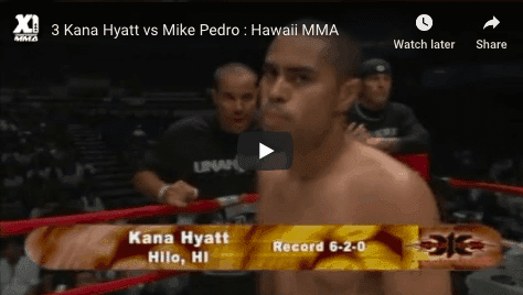 3 Kana Hyatt vs Mike Pedro : Hawaii MMA