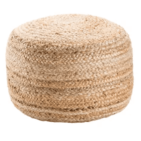 farmhouse family room pouf