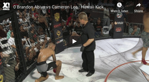 Brandon Abiva vs Cameron Lee : Hawaii Kickboxing