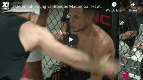 1 Jeremiah Young vs Brandon Madamba : Hawaii MMA