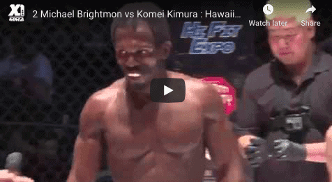2 Michael Brightmon vs Komei Kimura : Hawaii MMA