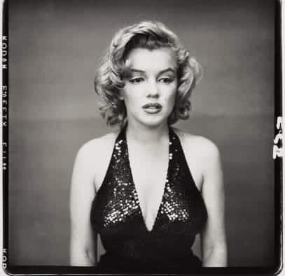 Richard Avedon - Marilyn Monroe, actress - 1957