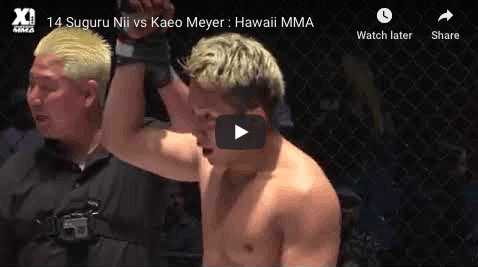 14 Suguru Nii vs Kaeo Meyer : Hawaii MMA