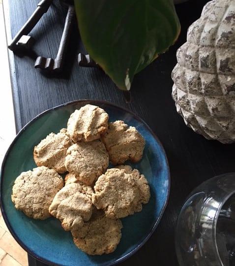 Biscuits amandes coco noisette vegan