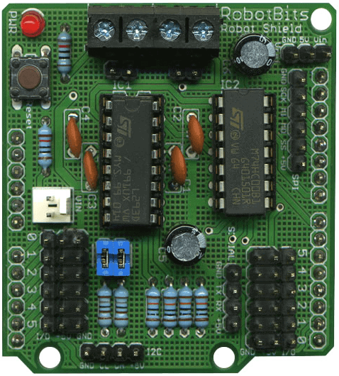 Robot Shield for Arduino