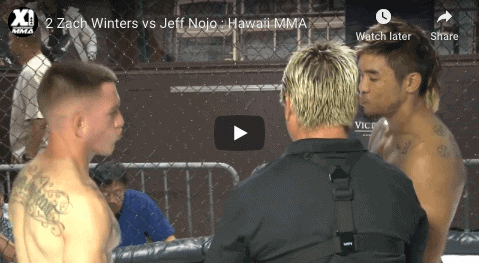 2 Zach Winters vs Jeff Nojo : Hawaii MMA