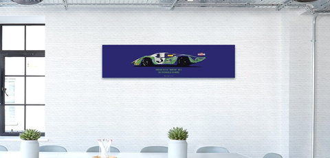 "PORSCHE 917 LH ""MARTINI"" NR 3 THE PSYCHEDELIC 24 HOURS"