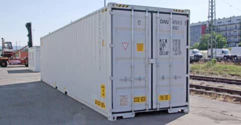 CHV Container 40FT High Cube Double Door neuwertig