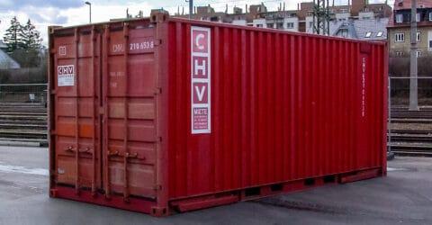 6m ISO Stahlcontainer 4-Stangen gebraucht
