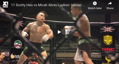 11 Scotty Hao vs Micah Abreu Laybon: Hawaii MMA