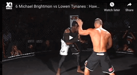 6 Michael Brightmon vs Lowen Tynanes : Hawaii MMA